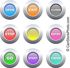 sign buttons