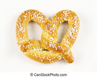 Soft Pretzel - A warm and chewy salted soft pretzel