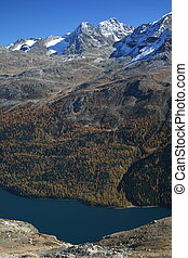 "Silvaplanasee, Bernina - On the \""Engadin\\\"" hiking..."