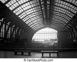 Antwerp - Train station in Antwerp