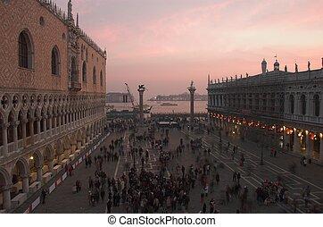 Venice Piazza San Marco - Venice San Marco square