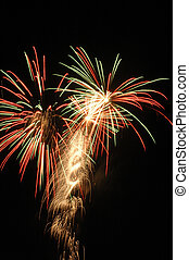 Firework Rockets - Firework Display For 4th July...
