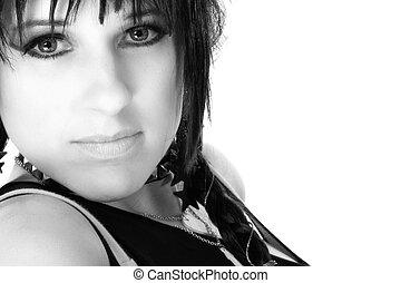 Beautiful Rocker Chick