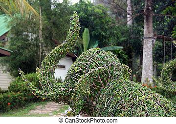 藝術, 花園, 大象