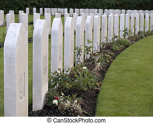 Cemetery - Military Cemetery of the second worldwar in...