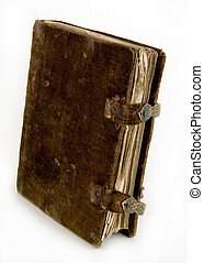 el, antiguo, libro