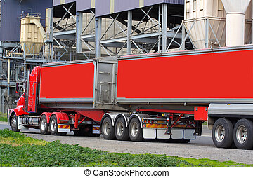 Semi truck - Articulated semi truck