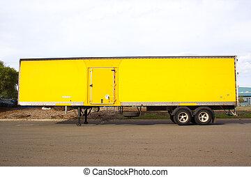 Semi trailer - Articulated semi trailer