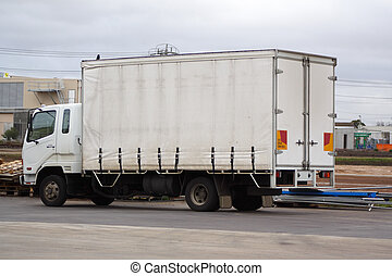 Small truck - Small white truck