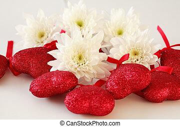 romanticos, ouve, flor