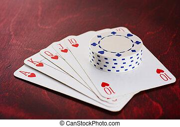 Winning hand - Winning poker hand