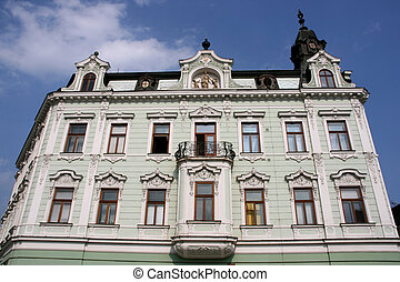 Old town building - City building in Kromeriz, Zlin region,...