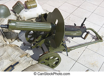 "Machine gun ""Maxim"" - Machine gun \\\""Maxim\\\"" the..."