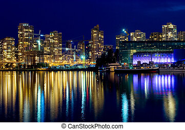 Modern Vancouver - Luxury living in modern buildings,...