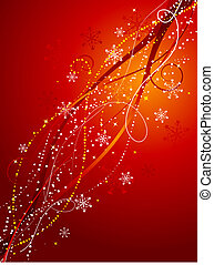 Decorative christmas abstract - Decorative Christmas...