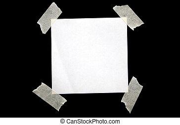 White paper.