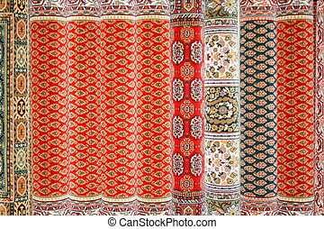 Persian carpets - Traditional Persian carpets made from...