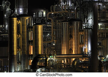 Chemical Organ - Intimate part of a chemical plant...