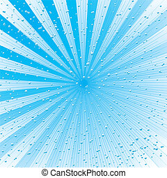 christmas radiate - christmas radiating background in blue...