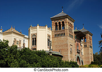 Building in Seville - Beautiful building in Seville, Spain