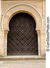 Arched doorway in Cordova, Spain