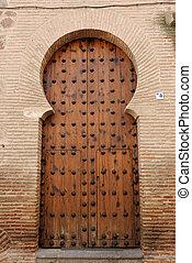 moorish style door