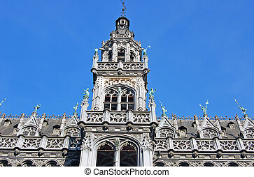 Brussels - Deail of the City hall
