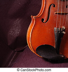 Fragment of violin - Fragment of string instruments, violin...
