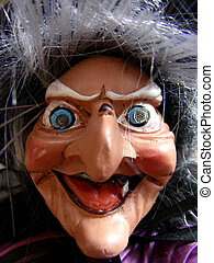 Old Hag - Scary looking old hag of a woman