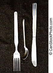 Spoon, Knife and Fork iso