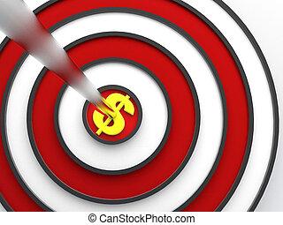 target - hi res rendering dollar and target