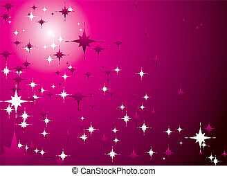 magenta sky - abstract magenta sky with a festive feel and...