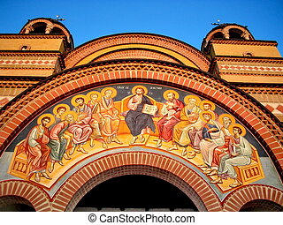 The Orthodox Temple - The Orthodox Christian Temple,entrance...