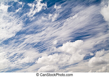Clouds, Clouds, Clouds - A variety of cloud types all...