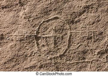 Anasazi petroglyphics