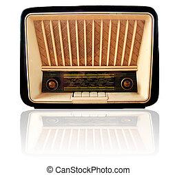 antigas,  rádio,  retro