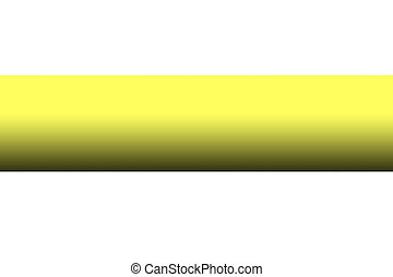 Blank Yellow Barrier Tape