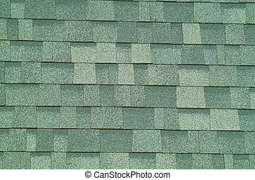 Shingle Background - A close up view of shingle texture.