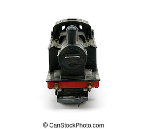 Steam Shunter engine model front - Toy Steam British Railway...