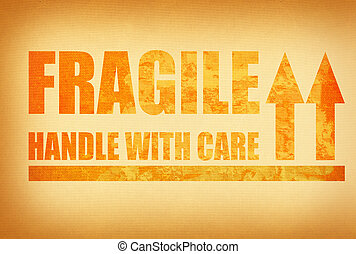 handle with care - fragile , handle with care, photo does...