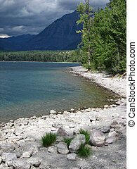Lake MacDonald - Northern Plains Montana Glacier National...