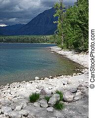 Lake MacDonald - Northern Plains Montana Glacier National...