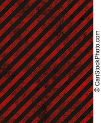 hazard background - grungy red striped hazard background...