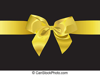 Golden Ribbon illustration - Golden Ribbon XXL jpeg made...