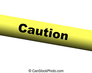 Caution Barrier Tape - Yellow Caution Barrier Tape
