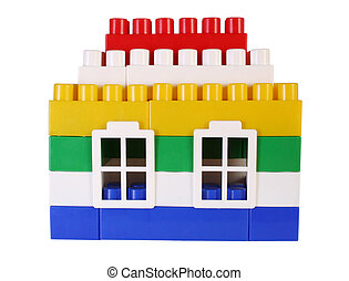 house toy with windows