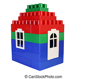 house toy with door