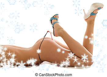 christmas heels - classical style high heels picture with...