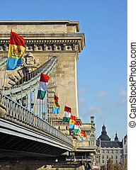 towards Budapest 2 - There is the Chain Bridge in Budapest...