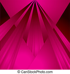 magenta ray - rays of magenta light stream from the sky onto...